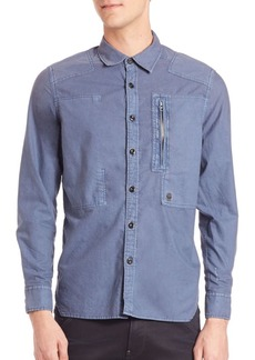 G Star Raw Denim Powel Multi-Stich Button-Down Shirt