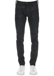 G Star Raw Denim Rackam 3d Skinny Waxed Denim Jeans