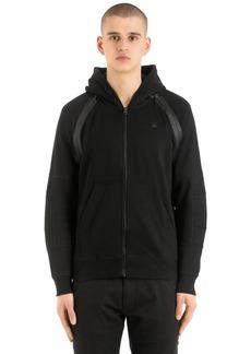 G Star Raw Denim Rackam Sweatshirt W/ Detachable Sleeves