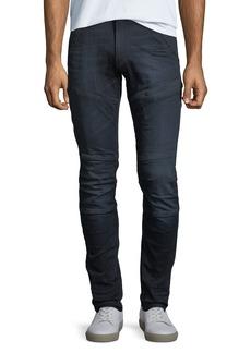 G Star Raw Denim Rackham Super-Slim Moto Jeans