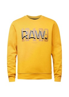 G Star Raw Denim Raw Dot Logo Graphic Sweatshirt