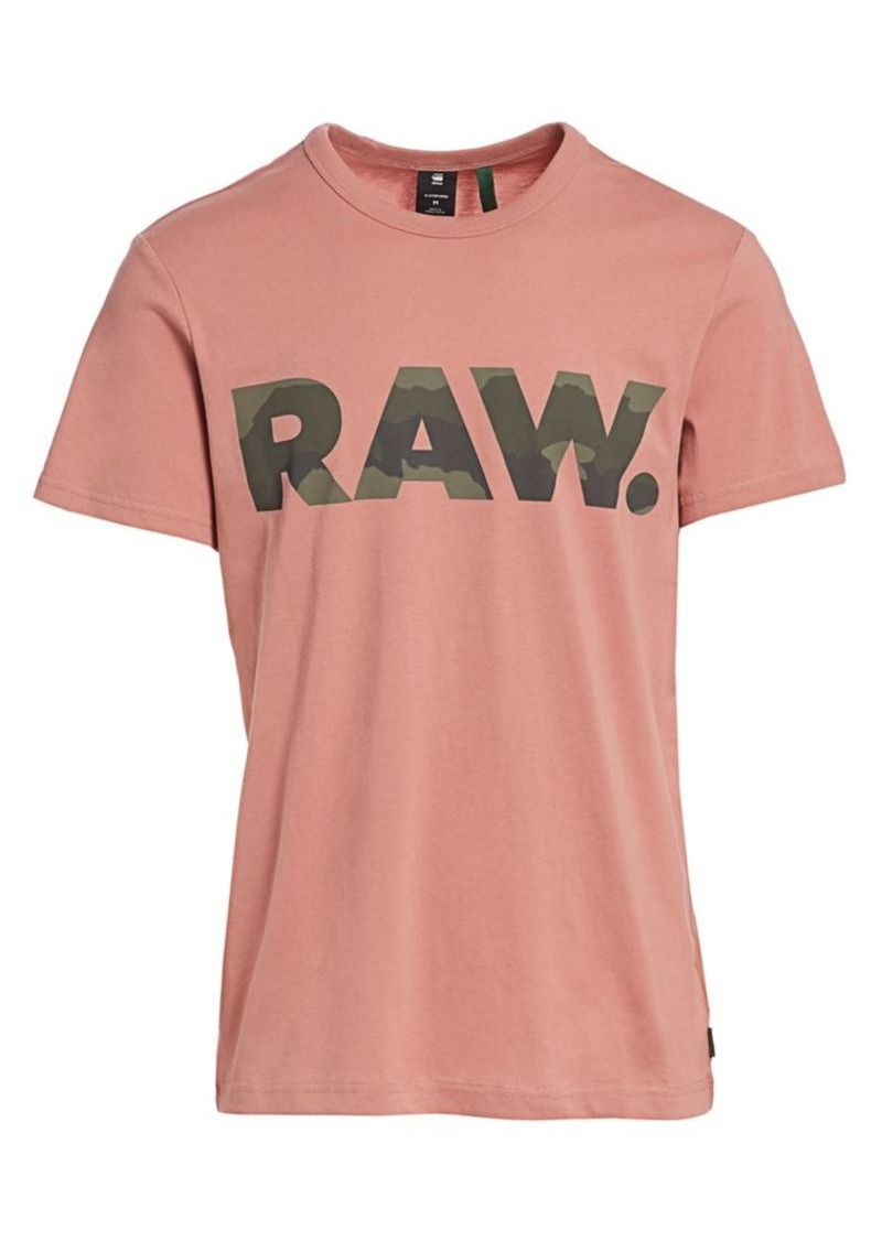 G Star Raw Denim Raw Logo Graphic Tee
