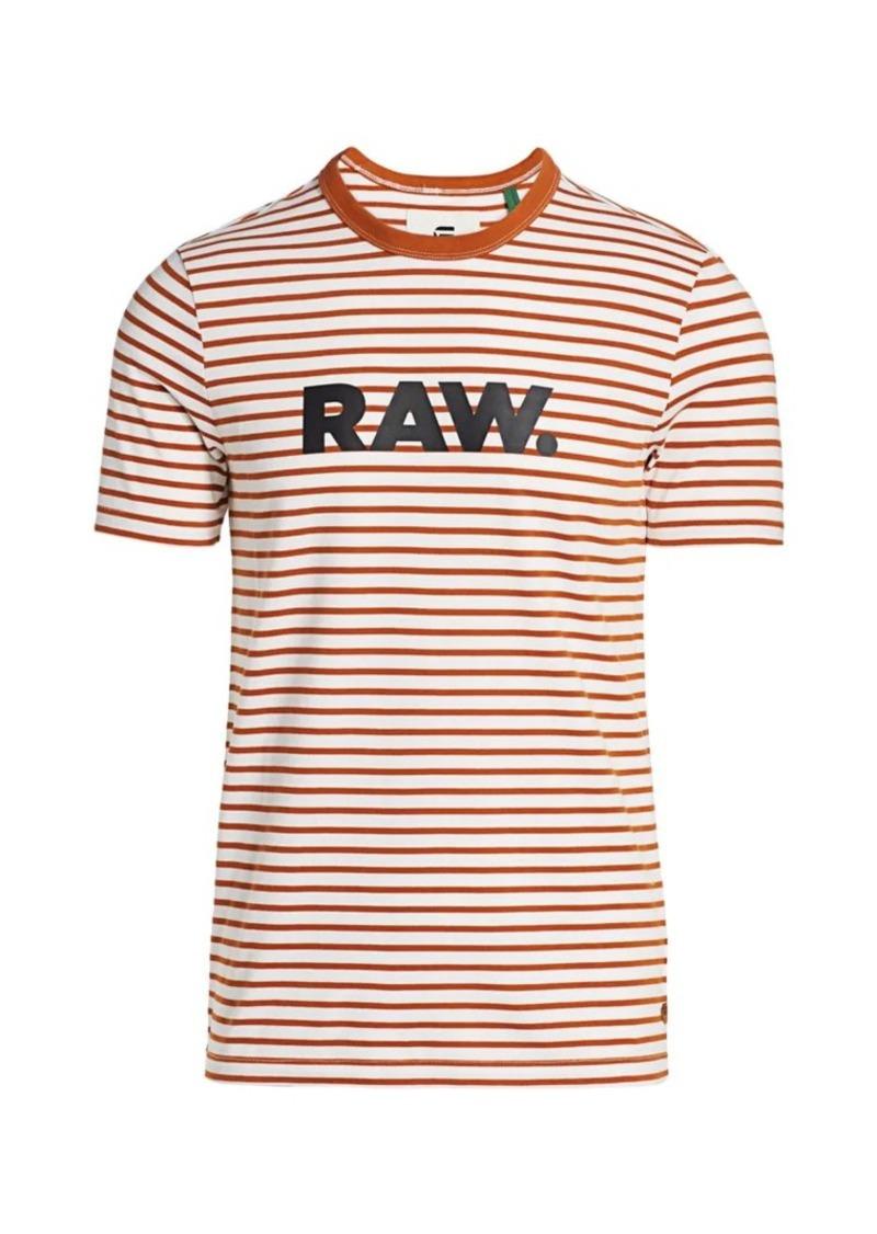 G Star Raw Denim Raw Striped Tee
