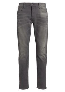 G Star Raw Denim Revend Distressed Skinny Jeans