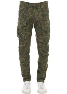 G Star Raw Denim Rovic 3d Cotton Canvas Cargo Pants