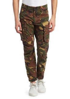 G Star Raw Denim Rovic 3D Straight Tapered Camo Cargo Pants