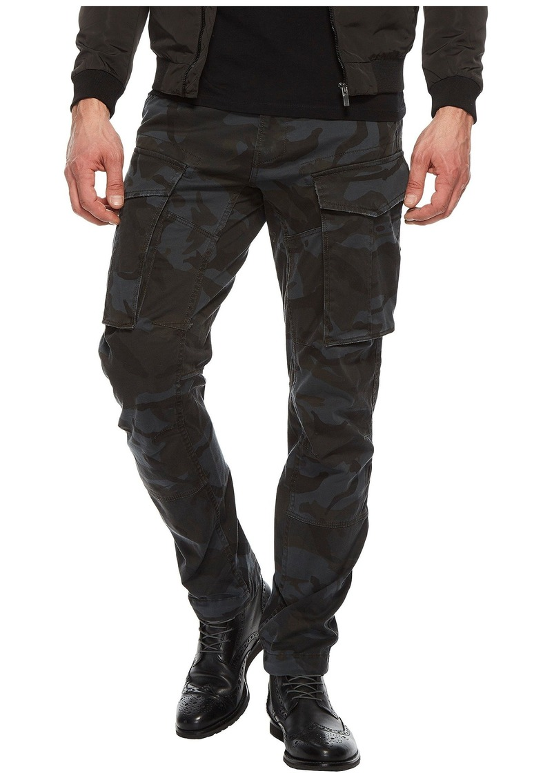 G Star Raw Denim Rovic 3D Tapered Five-Pocket Army Pants