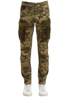 G Star Raw Denim Rovic Mix 3d Tapered Camo Cotton Pants