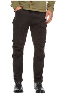 G Star Raw Denim Rovic Zip 3D Tapered Fit Pants in Premium Micro Stretch Twill Raven