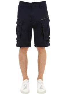 G Star Raw Denim Rovic Zip Relaxed Cargo Shorts