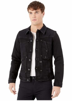 G Star Raw Denim Scutar Pop Slim Jacket in Jet Black