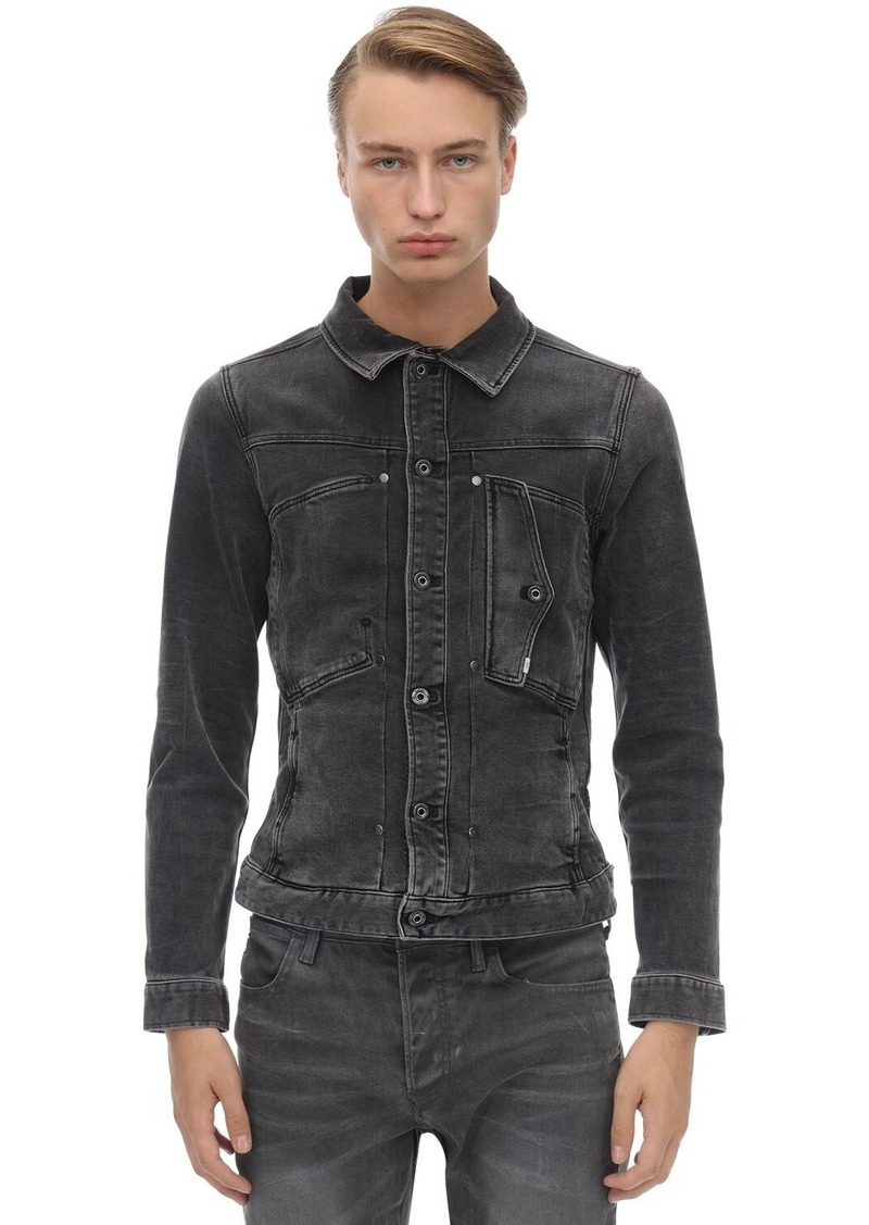 G Star Raw Denim Scutar Slim Stretch Denim Jacket