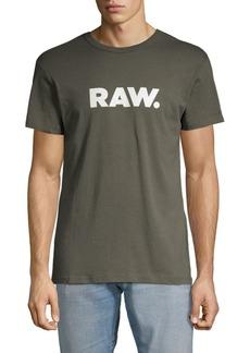 G Star Raw Denim Short-Sleeve Cotton Tee