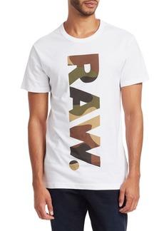 G Star Raw Denim Short-Sleeve Graphic Tee