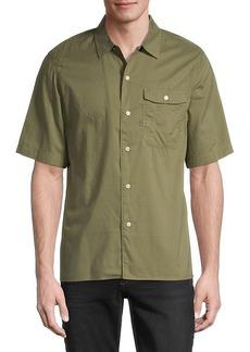 G Star Raw Denim Short-Sleeve Shirt