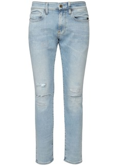 G Star Raw Denim Skinny Cotton Denim Jeans