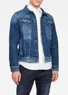 G Star Raw Denim Slim Denim Jacket