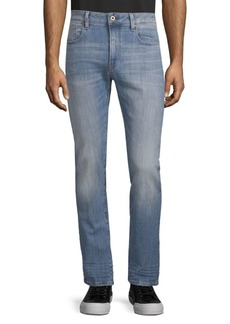 G Star Raw Denim Slim-Fit Deconstructed Jeans