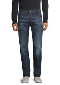 G Star Raw Denim Slim-Fit Distressed Jeans