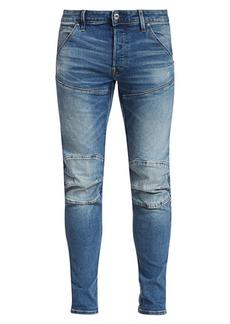 G Star Raw Denim Slim Reinforced Knee Jeans