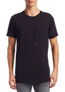 G Star Raw Denim Stalt Regular-Fit Cotton Tee