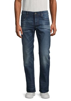 G Star Raw Denim Straight-Fit Jeans