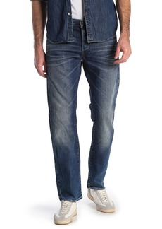 G Star Raw Denim Straight Leg Jeans