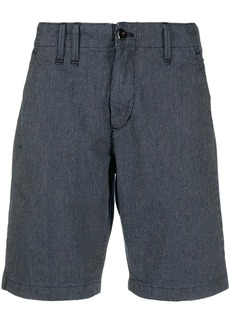 G Star Raw Denim striped cotton shorts