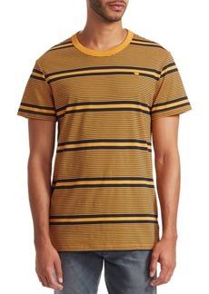 G Star Raw Denim Striped T-Shirt