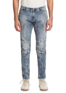 G Star Raw Denim Super Slim Vintage Wash Skinny Jeans