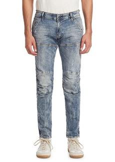 G Star Raw Denim Super Slim Vintage Wash Skinny Jeans