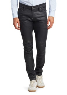 G Star Raw Denim Super-Slim Zip-Knee Jeans