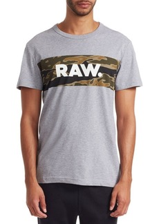 G Star Raw Denim Tairi Logo T-Shirt