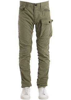 G Star Raw Denim Tendric 3d Tapered Cotton Cargo Pants