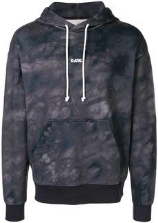 G Star Raw Denim tie dye hoodie