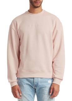 G Star Raw Denim Tonal Logo Sweatshirt