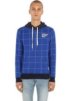 G Star Raw Denim Uotf Core Hooded Check Sweatshirt