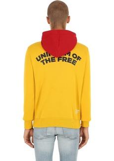 G Star Raw Denim Uotf Core Hooded Printed Sweatshirt