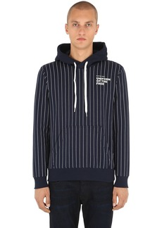 G Star Raw Denim Uotf Core Hooded Striped Sweatshirt