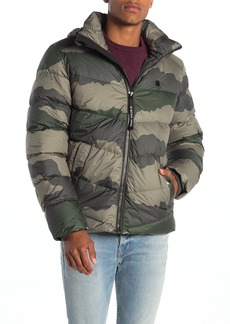 G Star Raw Denim Whistler Camo Down Puffer Jacket