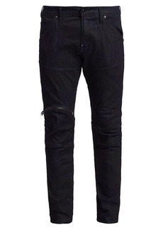 G Star Raw Denim Zip Knee 3D Skinny Jeans