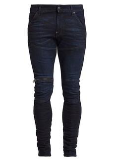 G Star Raw Denim Zip Knee 3D Super Skinny Jeans