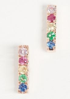 Gabriela Artigas 14k Gold Rainbow Stud Earring