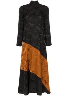 3e64a99b059c Ganni Ackerly horse print silk dress