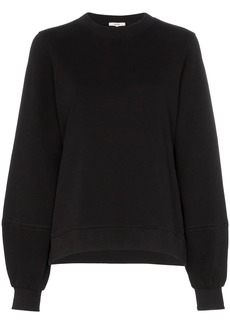 Ganni balloon sleeve sweatshirt