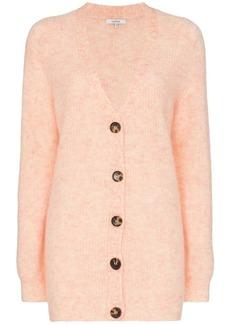 Ganni Callahan button-down knitted cardigan