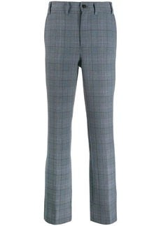 Ganni checked tailored trousers