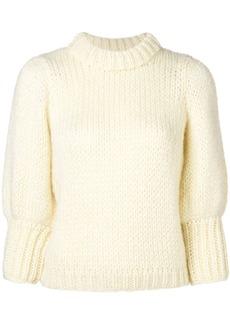 Ganni chunky knit sweater