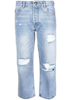 Ganni cropped denim jeans