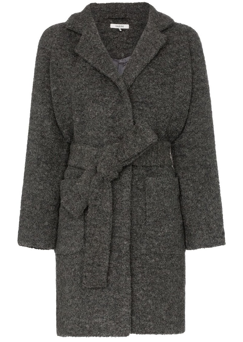 Ganni Fenn belted coat